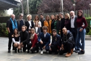 Foto/IPP/Gioia Botteghi 16/11/2017 Roma, presentazione della fiction di rai uno Scomparsa, nella foto: cast Italy Photo Press - World Copyright