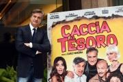 Foto/IPP/Gioia Botteghi 21/11/2017 Roma, presentazione del film Caccia al tesoro, nella foto:  Max Tortora Italy Photo Press - World Copyright
