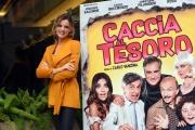 Foto/IPP/Gioia Botteghi 21/11/2017 Roma, presentazione del film Caccia al tesoro, nella foto:  Christiane Filangieri  Italy Photo Press - World Copyright
