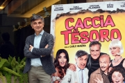 Foto/IPP/Gioia Botteghi 21/11/2017 Roma, presentazione del film Caccia al tesoro, nella foto: Vincenzo Salemme Italy Photo Press - World Copyright