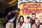 Foto/IPP/Gioia Botteghi 21/11/2017 Roma, presentazione del film Caccia al tesoro, nella foto:  Francesco Di Leva Italy Photo Press - World Copyright