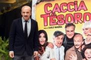 Foto/IPP/Gioia Botteghi 21/11/2017 Roma, presentazione del film Caccia al tesoro, nella foto: Carlo Buccirosso Italy Photo Press - World Copyright
