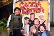 Foto/IPP/Gioia Botteghi 21/11/2017 Roma, presentazione del film Caccia al tesoro, nella foto:  Gennaro Guazzo  Italy Photo Press - World Copyright