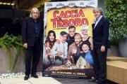 Foto/IPP/Gioia Botteghi 21/11/2017 Roma, presentazione del film Caccia al tesoro, nella foto:  Carlo Vanzina , Enrico Vanzina. Italy Photo Press - World Copyright