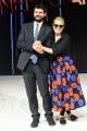 Foto/IPP/Gioia Botteghi 24/11/2016 Roma Presntazione della trasmissione di rai uno Nemicheamatissime, nella foto Hether Parisi con il direttore di Rai uno Fabiano