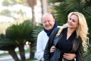 Foto/IPP/Gioia Botteghi    05/12/2017 Roma, presentazione del film Natale da Chef, nella foto   Massimo Boldi e LOREDANA DE NARDIS Italy Photo Press - World Copyright