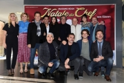 Foto/IPP/Gioia Botteghi    05/12/2017 Roma, presentazione del film Natale da Chef, nella foto   il cast Italy Photo Press - World Copyright