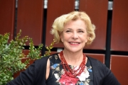Foto/IPP/Gioia Botteghi 20/12/2017 Roma, presentazione della fiction di rai uno Romanzo Familiare, nella foto Pamela Villoresi Italy Photo Press - World Copyright