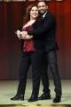 Foto/IPP/Gioia Botteghi 23/02/2017 Roma presentazione dela nuova edizione di Ballando con le stelle, nella foto: Anna La Rosa e Stefano Oradei