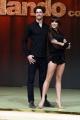 Foto/IPP/Gioia Botteghi 23/02/2017 Roma presentazione dela nuova edizione di Ballando con le stelle, nella foto: Christopher Leoni e Ekaterina Vaganova