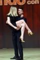 Foto/IPP/Gioia Botteghi 23/02/2017 Roma presentazione dela nuova edizione di Ballando con le stelle, nella foto: Fabio Basile e Anastasia Kuzmina