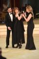 Foto/IPP/Gioia Botteghi 01/04/2017 Roma puntata di ballando con le stelle del 1 aprile, nella foto Nastassja kinski con Milly Carlucci e Simone Di Pasquale