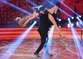 Foto/IPP/Gioia Botteghi 01/04/2017 Roma puntata di ballando con le stelle del 1 aprile, nella foto Martina Stella con Samuel Peron