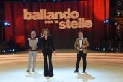 Foto/IPP/Gioia Botteghi 25/02/2017 Roma Prima puntata di Ballando con le stelle, nella foto: Milly Carlucci e Paolo Belli con Roberto Mancini