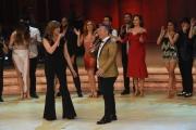 Foto/IPP/Gioia Botteghi 25/02/2017 Roma Prima puntata di Ballando con le stelle, nella foto: Milly Carlucci e Paolo Belli