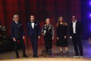 Foto/IPP/Gioia Botteghi 25/02/2017 Roma Prima puntata di Ballando con le stelle, nella foto: la giuria Lucarelli, Mariotto, Canino, Zazzaroni, Smith