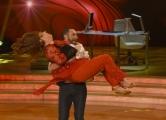 Foto/IPP/Gioia Botteghi 25/02/2017 Roma Prima puntata di Ballando con le stelle, nella foto: Anna La Rosa e Stefano Oradei