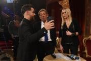 Foto/IPP/Gioia Botteghi 25/02/2017 Roma Prima puntata di Ballando con le stelle, nella foto: Roberta Bruzzone e Sandro Mayer con Valerio Scanu