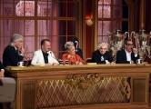 Foto/IPP/Gioia Botteghi 29/04/2017 Roma puntata finale di Ballando con le stelle, nella foto: La giuria con Morgan