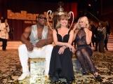 Foto/IPP/Gioia Botteghi 29/04/2017 Roma puntata finale di Ballando con le stelle, nella foto: i vincitori Oney Tapia e Veera Kinnunen con Milly Carlucci