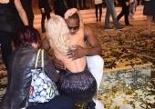 Foto/IPP/Gioia Botteghi 29/04/2017 Roma puntata finale di Ballando con le stelle, nella foto: i vincitori piangono Oney Tapia e Veera Kinnunen