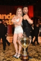 Foto/IPP/Gioia Botteghi 29/04/2017 Roma puntata finale di Ballando con le stelle, nella foto: i secondi classificati Fabio Basile e Anastasia Kuzmina