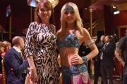 Foto/IPP/Gioia Botteghi 08/04/2017 Roma puntata di ballando con le stelle del 8 aprile, nella foto: Kseniya Belousova con la madre
