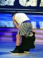 Foto/IPP/Gioia Botteghi 08/04/2017 Roma puntata di ballando con le stelle del 8 aprile, nella foto Martion Castrogiovanni lo spogliarello