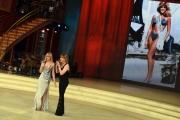 Foto/IPP/Gioia Botteghi 08/04/2017 Roma puntata di ballando con le stelle del 8 aprile, nella foto Marla Maples ex Trump con Milly Carlucci