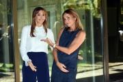 Foto/IPP/Gioia Botteghi 13/10/2017 Roma, presentazione di DOMENICA IN, nella foto: Cristina e Benedetta Parodi