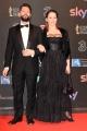 Foto/IPP/Gioia Botteghi 27/03/2017 Roma Premio David di Donatello Red carpet, nella foto: Lorenzo Lavia e Arianna Mattioli