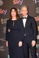 Foto/IPP/Gioia Botteghi 27/03/2017 Roma Premio David di Donatello Red carpet, nella foto: Beppe Fiorello e signora