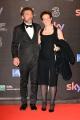 Foto/IPP/Gioia Botteghi 27/03/2017 Roma Premio David di Donatello Red carpet, nella foto: Ninni Bruschetta con signora