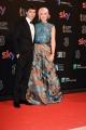 Foto/IPP/Gioia Botteghi 27/03/2017 Roma Premio David di Donatello Red carpet, nella foto: Michele Riondino con Eva nestori