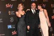 Foto/IPP/Gioia Botteghi 27/03/2017 Roma Premio David di Donatello Red carpet, nella foto: Michela ramazzotti, Virzì Valeria Bruni tedeschi