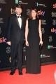 Foto/IPP/Gioia Botteghi 27/03/2017 Roma Premio David di Donatello Red carpet, nella foto: franceschini e signora