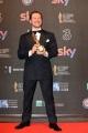 Foto/IPP/Gioia Botteghi 27/03/2017 Roma Premio David di Donatello Red carpet, nella foto: MIGLIOR ATTORE PROTAGONISTA Stefano Accorsi, per Veloce come il vento