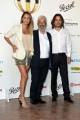 Foto/IPP/Gioia Botteghi 14/06/2017 Roma, presentazione del Globo D'oro , nella foto: Ginfranco Cabiddo con Arturo e Isabella