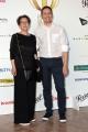 Foto/IPP/Gioia Botteghi 14/06/2017 Roma, presentazione del Globo D'oro , nella foto: Fabio Mollo e mamma Marisa