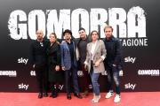 Foto/IPP/Gioia Botteghi 13/11/2017 Roma, Presentazione della terza serie Sky GOMORRA, nella foto: protagonisti Italy Photo Press - World Copyright