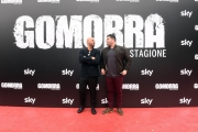 Foto/IPP/Gioia Botteghi 13/11/2017 Roma, Presentazione della terza serie Sky GOMORRA, nella foto: Marco D'Amore e Salvatore Esposito Italy Photo Press - World Copyright
