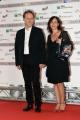 Foto/IPP/Gioia Botteghi 06/06/2017 Roma, presentazione dei Nastri d'argento, nella foto: Francesco Bruni e signora
