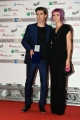 Foto/IPP/Gioia Botteghi 06/06/2017 Roma, presentazione dei Nastri d'argento, nella foto:  Michele Riondino e signora