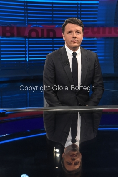 20/04/2017 Roma puntata Tabloid Night con Matteo Renzi