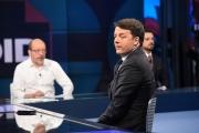 20/04/2017 Roma puntata Tabloid Night con Matteo Renzi ed Annalisa Brughi
