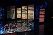 22/04/2017 Roma studio di report rai tre la puntata di lunedi 24 sarà su il sole 24 ore