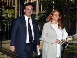Foto/IPP/Gioia Botteghi 16/06/2017 Roma, Mario Orfeo nuovo direttore generale della Rai con Monica Maggioni presidente