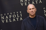 Foto/IPP/Gioia Botteghi 18/12/2017 Roma, presentazione del film Napoli Velata, nella foto: Il regista FERZAN OZPETEK Italy Photo Press - World Copyright