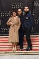 Foto/IPP/Gioia Botteghi 18/12/2017 Roma, presentazione del film Napoli Velata, nella foto: Il regista FERZAN OZPETEK, gli attori protagonisti GIOVANNA MEZZOGIORNO, ALESSANDRO BORGHI Italy Photo Press - World Copyright