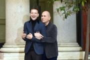 Foto/IPP/Gioia Botteghi 18/12/2017 Roma, presentazione del film Napoli Velata, nella foto:Il regista FERZAN OZPETEK,ALESSANDRO BORGHI Italy Photo Press - World Copyright